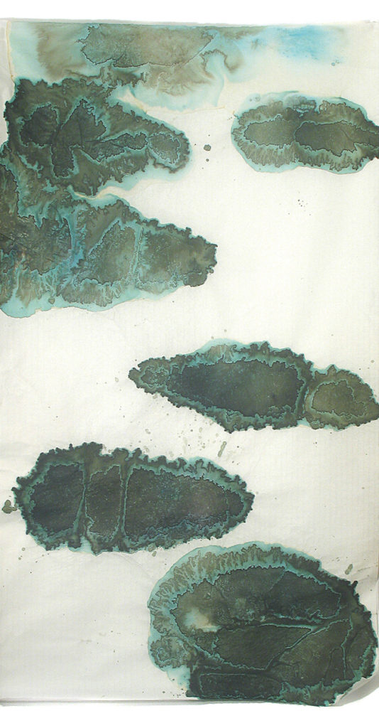 Encre de Catherine Laborde - constellation d'Îlots