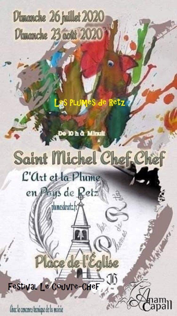 Affiche de l'édition 2020 du festival Les Plumes de Retz